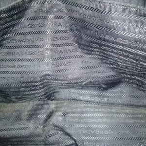 Prada Bags - Prada messenger black nylon with leather straps